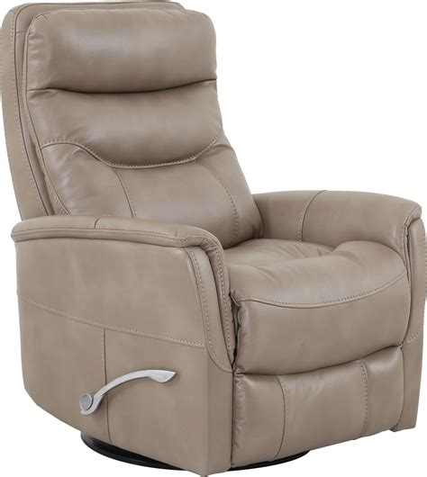 Armchair Recliner Design Ideas Furniture Beige Gemini Linen Swivel Glider Recliner With Pull Handle For Unique
