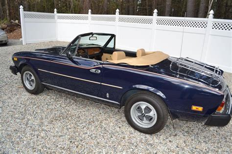 fiat spider 2000 for sale 1979 fiat 2000 spider for sale 1883471 hemmings motor news