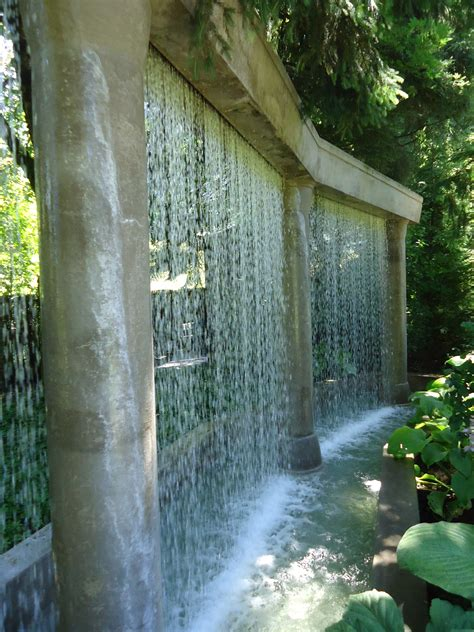 Minter Gardens Exceeding Expectations That Bloomin Garden Water Wall Features For The Garden