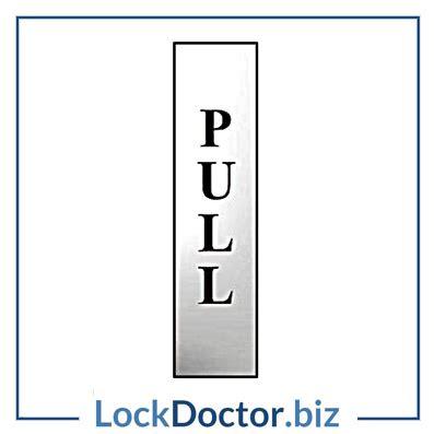 Adhesive Mirror Door Pulls - pull 200mm x 50mm chrome self adhesive sign lock doctor