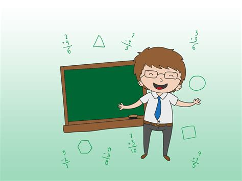 Teachers With Computer Powerpoint Templates Education Green Free Ppt Backgrounds And Templates Powerpoint Templates For Teachers