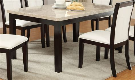 Brown Marble Dining Table Poundex F2296 Brown Marble Dining Table A Sofa Furniture Outlet Los Angeles Ca