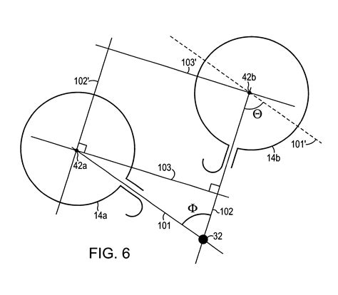 radiation pattern drawing patent us6466177 controlled radiation pattern array