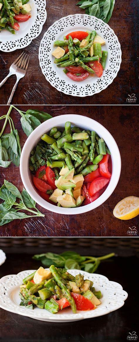 Asparagus Detox Salad by Asparagus Avocado Tomato Salad Recipe Avocado Tomato