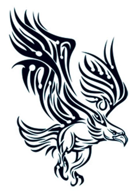 tattoo tribal oiseau bird of prey tattooforaweek temporary tattoos largest