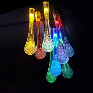 colored patio lights ledniceker multi colored solar led string lights with