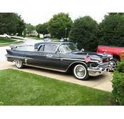 1958 Cadillac Flower Car  Interior Design