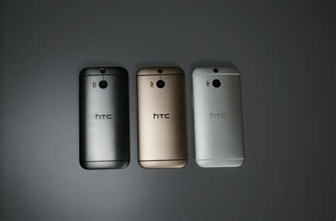 htc one m8 colors htc one m8 in gold gunmetal and silver