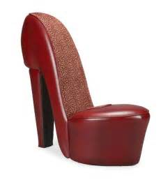 weird chairs on craigslist red large high heel shoe chair