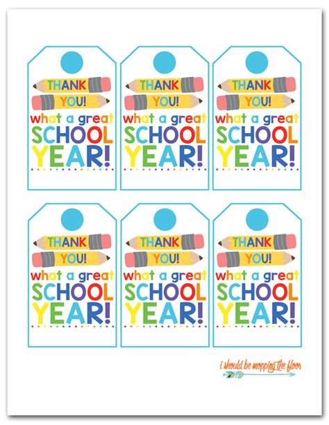 printable end of year gift tags i should be mopping the floor free printable end of