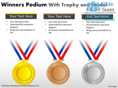 free ppt templates for winners how to make achievement games winners gold silver and