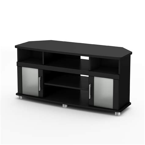 black corner tv stand bush furniture bush myspace visions corner tv stand