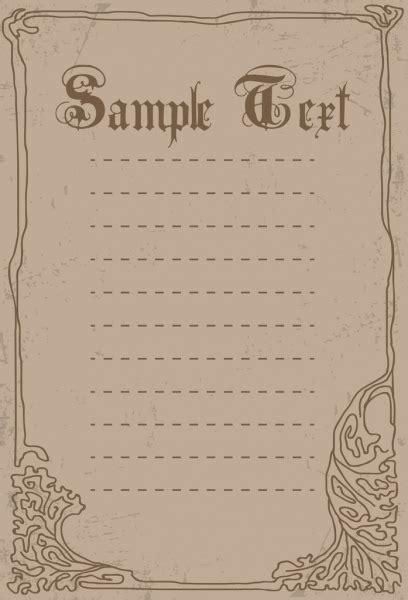border templates for adobe illustrator document border template handdrawn pattern retro style
