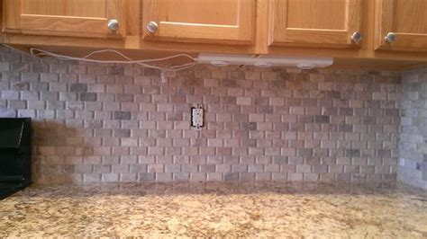 kitchen backsplash basket weave no grout