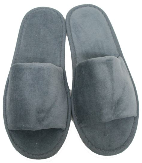 mens open toe house slippers open toe mens slippers 28 images new mens faux leather spa open toe slide house