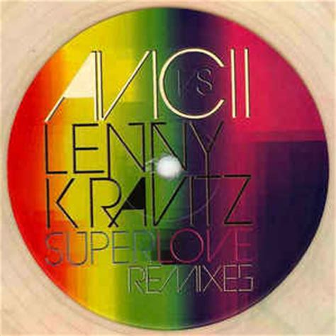 avicii discogs avicii vs lenny kravitz superlove remixes vinyl at
