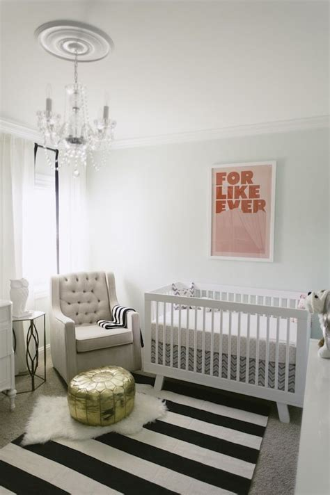 white rug nursery how to enhance a d 233 cor with a black and white striped rug