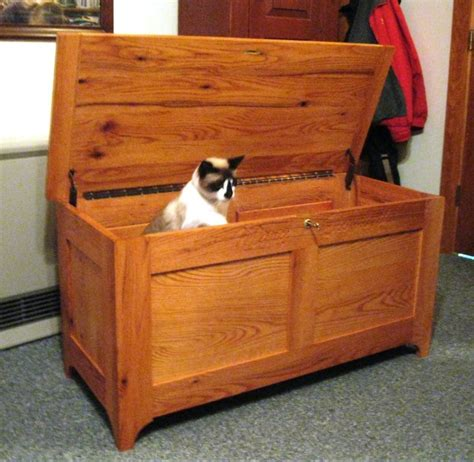 yankee woodworking nyws blanket chest with a twists by mainiac matt