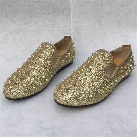 loafer ayakkabi errfc designer fashion foward loafer shoes gold bling