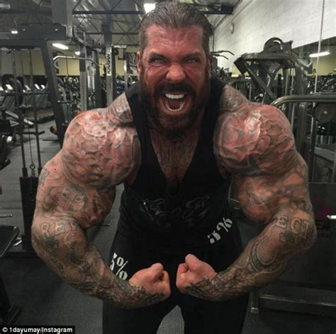 Rene Meme Bodybuilding - rich piana this 45 year old bodybuilder loves steroids