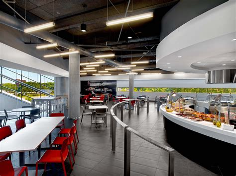 porsche headquarters hok porsche cars north america experience center and