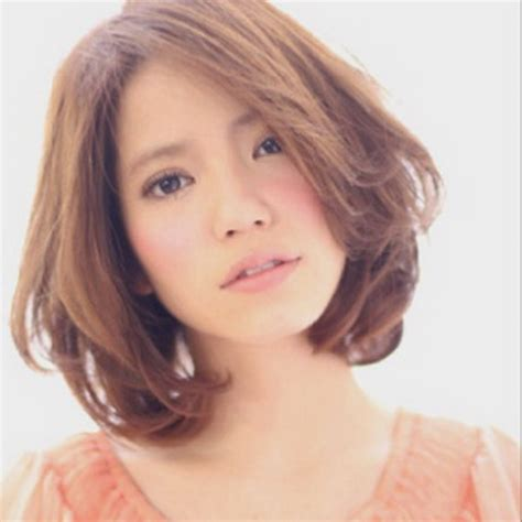 medium bob hairstyles japanese medium permed hairstyles