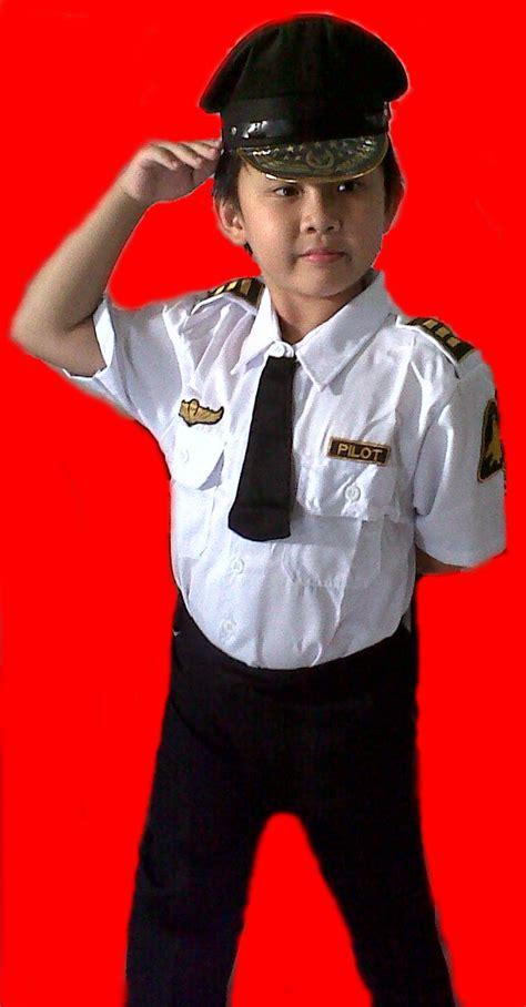 Baju Perawatbaju Susterbaju Profesi Usia 8 12 Tahun baju pilot anak toko abi