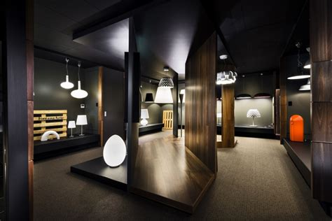 fontana arte showroom by bho interiors perth australia