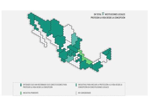refrends 2016 estado de mxico la mitad de los estados mexicanos considera el aborto un
