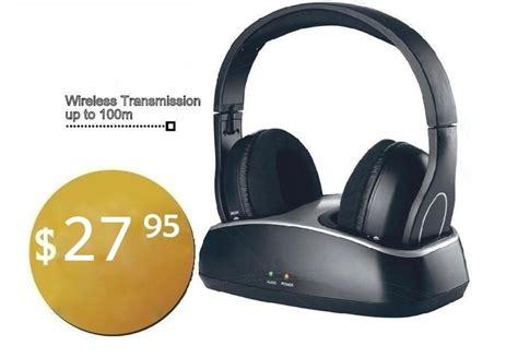 Sale Headset Hearphone Stereo Wierless Tm 010s cordless headphones wireless dock rechargeable headset for