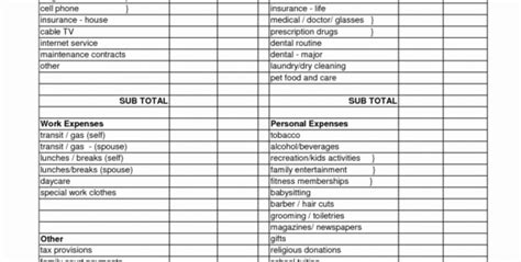 detailed budget spreadsheet google spreadshee detailed