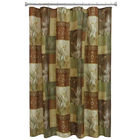 pinecone curtains pine cone diamond shower curtain