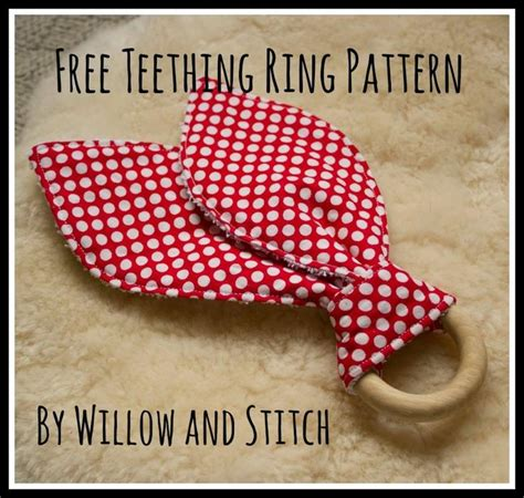 sewing pattern names 9 name sewing willow and stitch teething ring