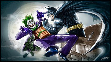 imagenes batman vs joker batman vs joker by clemper