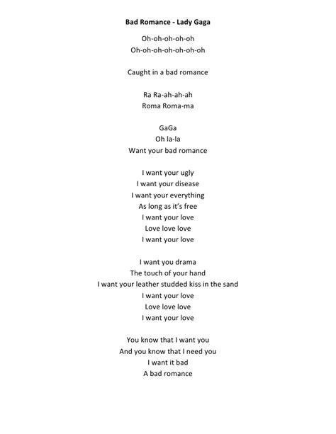 i am mine testo bad gaga lyrics