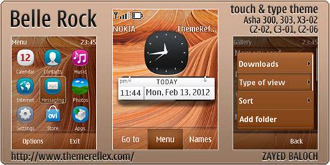 nokia themes rock belle rock themereflex