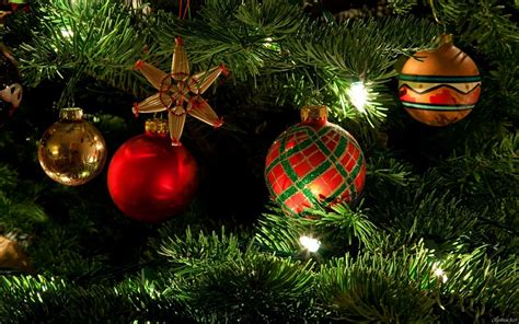 gorgeous christmas tree ornaments hd wallpapers 16