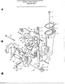 outboard motor motor leg page 2 diagram parts list for model 52179e mercury parts all products