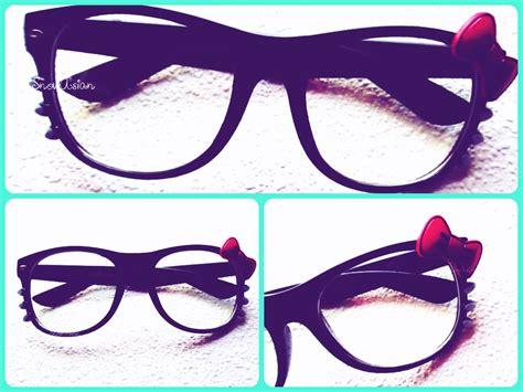 hello kitty with glasses wallpaper hello kitty nerd glasses www pixshark com images