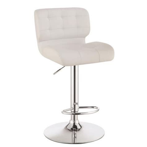 white adjustable counter stools adjustable bar stool 100546 white idea furniture