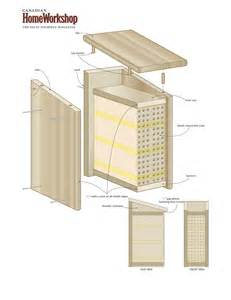 attract bees to your yard with a bee box canadian home - Bee House Plans