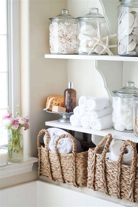 bathroom linen storage ideas diy bathroom linen shelves ella