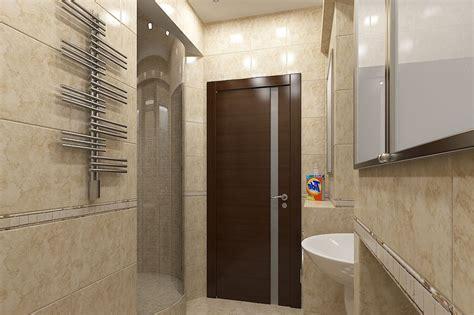 wooden bathroom doors a wooden door in the bathroom
