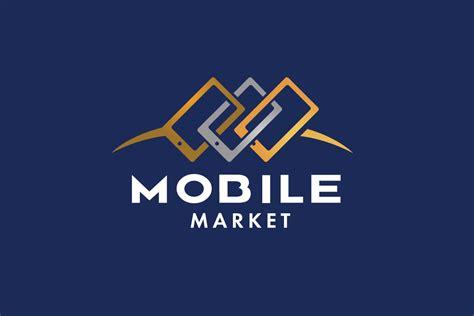 design a logo on your phone sold mobilemarket cell phone logo design logo cowboy