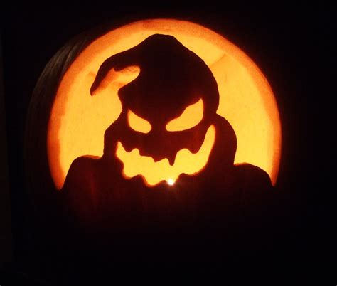 oogie boogie nightmare before christmas pumpkin www