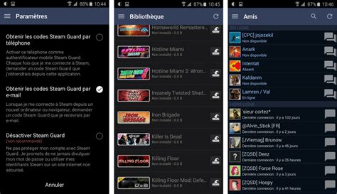 steam on android steam pour android passe 224 la version 2 0 plus rapide et avec avec une nouvelle interface