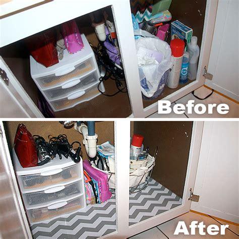 bathroom cabinet liner adding chevron shelf liner to master bathroom vanity