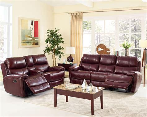 burgundy living room set boulevard burgundy dual reclining living room set l2233 30 brg new classics