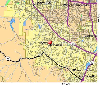 map of saratoga california 95070 zip code saratoga california profile homes