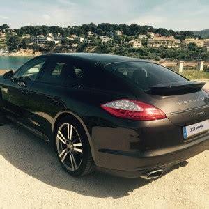 Location Porsche Panamera DIESEL avec chauffeur